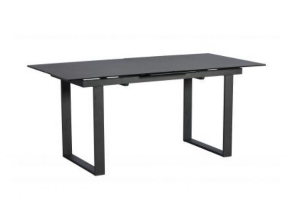Panama Extending Dining Table Dark Grey