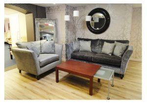 Loretta Large Sofa and Snuggler clearance