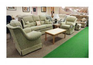 Malvern 3 Str Sofa and 2 Arm Chairs clearance