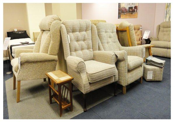Burford Fireside Chair Clearance