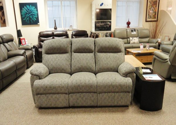Harper Manual recliner 3 Str Sofa Clearance