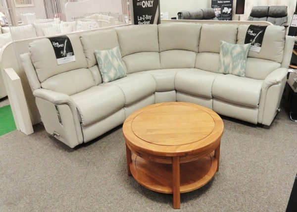 Kennedy Corner Manual Recliner Sofa Clearance