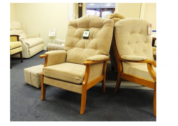 Meghan Fireside Chair Clearance