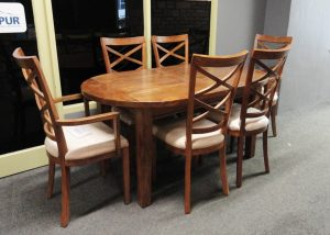 Manhattan Oval Dining Table Clearance