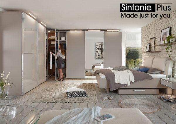 Sinfonia Plus Bedroom furniture