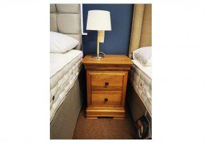 Lyon Oak Bedside Cabinet Clearance