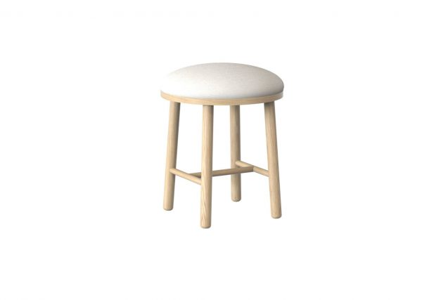 Trua Painted Stool Furniture