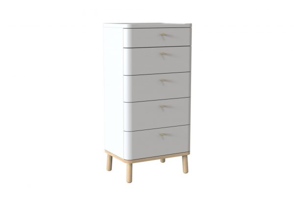 Trua Painted Tall Boy Furniture