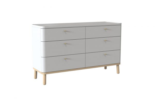 Trua Painted Wide Drawer Bedroom Furniture