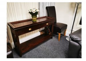 Mahogany Console Table Clearance
