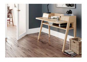 Model: Milan Desk Oak Finish