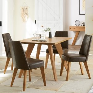 Cadell 4 Str Dining Table
