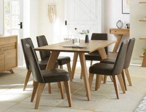 Cadell 6 Str Dining Table